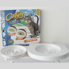 New Cat Toilet Seat Litter Easy Clean Training System Indoor Supplies