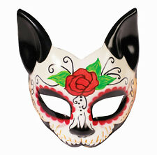 Forum Novelties Day of the Dead Cat Eye Mask