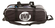 DV8 Tactic Black Slim Triple 3 Ball Tote Bowling Bag
