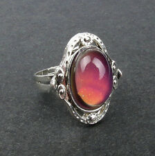 Temperature Control Emotion Feeling Mood Ring Color Changing Ring Adjustable