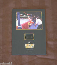 SHAWN MICHAELS ROYAL RUMBLE LIMITED edition FILM CELL from DVD set  WWE WWF