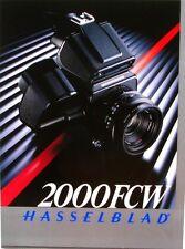 Catalogue des Produits HASSELBLAD - 2000 FCW - 1985