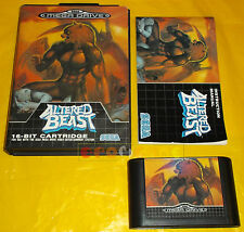 ALTERED BEAST Sega Mega Drive MegaDrive PAL ○○○○○ COMPLETO