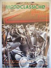 MOTOCLASSICHE 4 - 1992 ALLEGATO A RUOTECLASSICHE N° 50 HARLEY DAVIDSON  ( cc33)