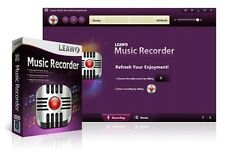 Leawo Music Sound Recorder,Record audio music from PC Mic & online music YouTube