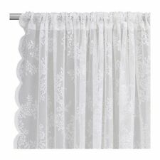 New Ikea ALVINE SPETS Curtain w/2 Panels (off-white)