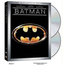 Batman (DVD, 2013, 2-Disc Set) Director: Tim Burton!