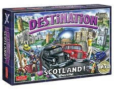Destination Scotland Board Game 10th Anniversary Edition Family Kids Xmas Gift