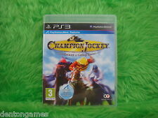 ps3 CHAMPION Jockey G1 & Galop Racer Course De Chevaux jeu Playstation PAL