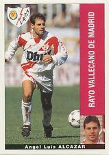 JOSE LUIS ALCAZAR # RAYO VALLECANO STICKER CROMO PANINI LIGA 1996 ESPANA