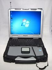 Panasonic ToughBook CF-30 MK3 Rugged Laptop L9300 1.6Ghz 4GB 250G TOUCH GPS Win7