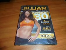 Jillian Michaels: Ripped in 30 (DVD, 2011) NEW 4 Workouts