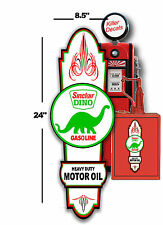 "24"" X8.5"" SINCLAIR HOT ROD SIGN LUBSTER FRONT DECAL OIL CAN GAS PUMP GASOLINE"