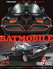 Polar Lights Batman 1966 TV Series Batmobile 2 Kit Set (Snap and Glue) 1/25