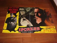 FOTOBUSTA,1965,Ipcress,The Ipcress File,Sidney J. Furie.MICHAEL CAINE,Deighton,