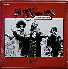 L'ORCHESTRE SYMPATHIQUE: Live in Detroit-NM1981LP RADIO CANADA INTERNATIONAL IMP