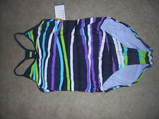 Champion Active Performance One-piece Swimsuit Women's Size Large New/NWT