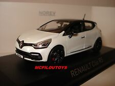 NOREV RENAULT CLIO IV R.S. 200 EDC WHITE WITH BLACK ROOF GP MONACO 2014 au 1/43°