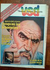 VSD N°115 de 1979 ayatollah khomeiny american circus paul noel & andré badiou