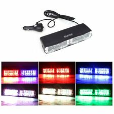 6 Colors 48 Flash Emergency Vehicle Dash Warning Strobe LED light Super Bright