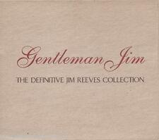 JIM REEVES - Gentleman Jim: Definitive Collection (UK Double CD Album/Slipcase)