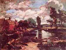 John Constable Flatford Mill From The Lock A4 Print