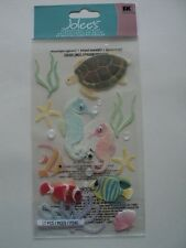 EK SUCCESS JOLEE'S SEA HORSES DIMENSIONAL STICKERS BNIP *LOOK*