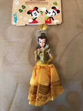 Disney Belle Beauty And The Beast Sketchbook Princess Xmas Decoration Ornament