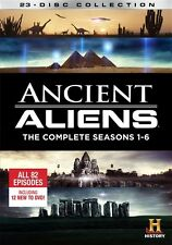 ANCIENT ALIENS COMPLETE SEASONS 1-6 New 23 DVD Set Season 1 2 3 4 5 6