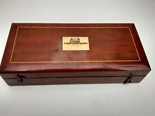 Sikes's Hydrometer in vgc mahogany case includes 2 rules & 2 thermometers