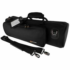 Protec Deluxe Trumpet Bag Instrument Case Black