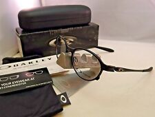 OAKLEY OVERLORD SATIN BLACK OX5067-0251 EYEGLASSES RX FRAME X-METAL 51MM RARE