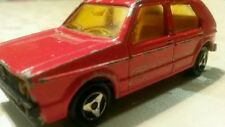 MAJORETTE 210 VW Volkswagen GOLF I Vintage Diecast Car TOY Model France 1:64 Red