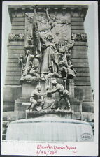 INDIANAPOLIS IN ~ 1909 WEST FACE ~ ARMY AND NAVY MONUMENT