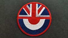 MOD SKA SCOOTER SEW ON / IRON ON PATCH:- PATCH No 1226 NAME TO FOLLOW