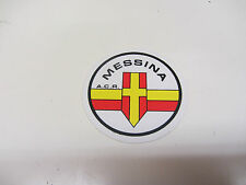LAMBRETTA VESPA MESSINA   ORIGINAL 80S FOOTBALL STICKER