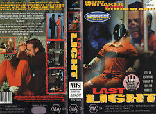 LAST LIGHT -Forest Whitaker & Kiefer Sutherland -VHS -PAL -NEW-Never played-RARE
