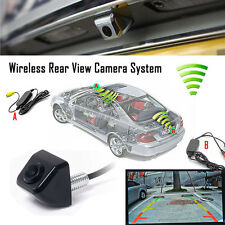 Wireless Car Rear View CCD 170°Front Back Forward Camera Reverse Backup Parking