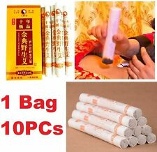 FD4612 Ten Years Old Traditional Moxa Roll Moxibustion Relif Pain Burner Stick♫