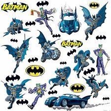 BATMAN GOTHAM 31 BiG Wall Stickers Room Decor Decals Marvel Bedroom Decorations