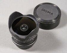 Pentax K, PK Mount Sigma Multi Coated Fisheye 15mm f/2.8 Extreme Wide Angle Lens