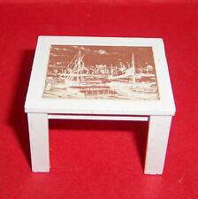 VINTAGE 1970's LUNDBY DOLLS HOUSE SMALL COFFEE TABLE