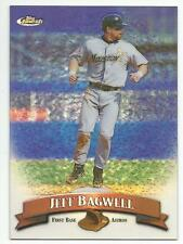 JEFF BAGWELL 1998 Topps Finest Refractor Baseball card #209r Astros NO FILM NM