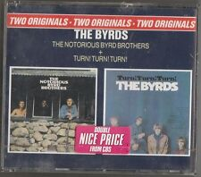 THE BYRDS THE NOTORIUS BYRD BROTHERS + TURN TURN TURN 2 CD