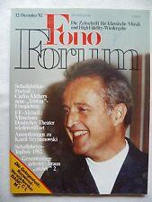 Fono Forum 12/82 KENWOOD 1,m C 1, marrone atelier 2,p 2,mag 2e, A, t2, c 2, Kardon 401