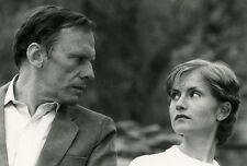 JEAN-LOUIS TRINTIGNANT  ISABELLE HUPPERT  EAUX PROFONDES  1981 VINTAGE PHOTO #2
