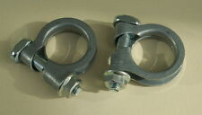 EBERSPACHER & WEBASTO EXHAUST CLAMPS.22 & 24mm PAIR of TOP QUALITY . FREEPOST