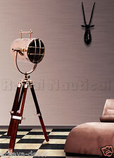 Nautical Spotlight Searchlight Desk/Floor Lighting Tripod Floor Lamp Home Decor