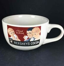 Hershey's Mug Retro Advertisement Cocoa Chocolate 24oz