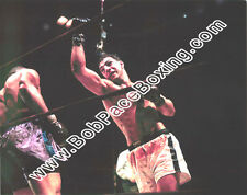 Rocky Marciano vs. Joe Louis Glossy 8 x 10 Color Boxing Fight Photograph